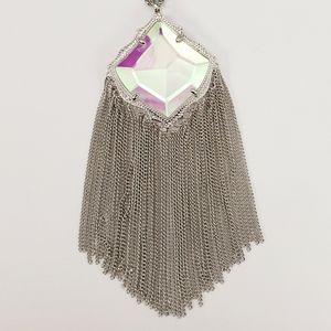 Kendra Scott Kingston Necklace Dichoric Glass